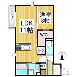仮)中澤様D-room[2階]の間取り