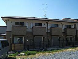 京都府京都市山科区大塚南溝町の賃貸アパートの外観