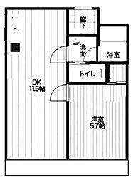 朝日プラザ梅田東I[3階]の間取り
