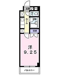イーアイハイツII[105号室]の間取り