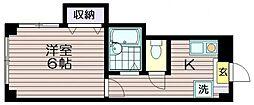 東京都三鷹市新川1の賃貸マンションの間取り