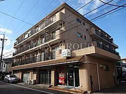 粟沢マンション[4階]の外観
