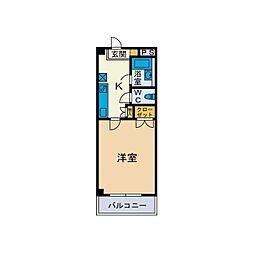 テクノプラザB[1階]の間取り