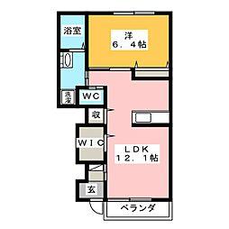 桜[1階]の間取り