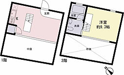 東京都杉並区和泉2丁目の賃貸マンションの間取り
