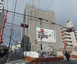 京都府京都市中京区壬生辻町の賃貸マンションの外観