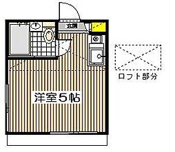 ペアパレス成増P−I[1階]の間取り