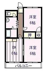 小泉ハイム[2階]の間取り