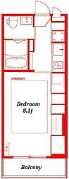 リブリアクシオン - LIVLI -[104号室]の間取り
