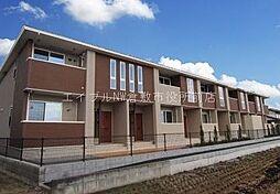 岡山県倉敷市玉島阿賀崎の賃貸アパートの外観