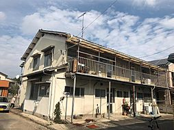 愛媛県松山市立花4丁目の賃貸アパートの外観
