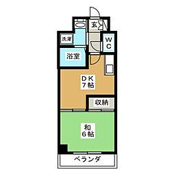 クレマチス28[6階]の間取り