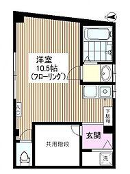 ホワイトコート板橋本町[2階]の間取り
