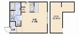 プリマガーデン弐番館[2階]の間取り