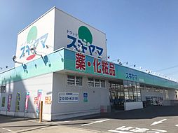 ドラッグスギヤマ(康生通店) 徒歩16分(1270m)