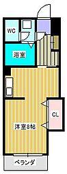 ラフィーヌ・池田5番館[3階]の間取り