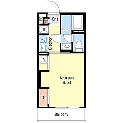 リブリ・スウィートホーム[1階]の間取り