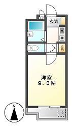 ユング桜山[2階]の間取り