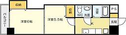 木下鉱産ビル[407号室]の間取り