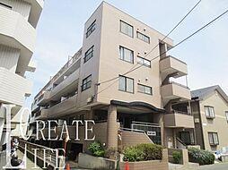 埼玉県さいたま市南区鹿手袋3丁目の賃貸マンションの外観