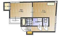 LOFT HOUSE[203号室]の間取り