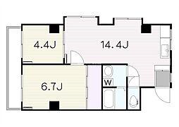 SETA東邦ビル(K09045366813)[301号室]の間取り