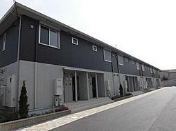 兵庫県三木市福井の賃貸アパートの外観