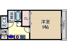 ユニバーサルコート[305号室号室]の間取り