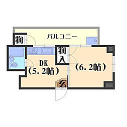 松岡マンション[5階]の間取り