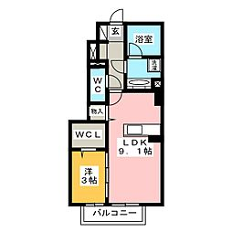 (仮称)D-room大正町[1階]の間取り