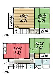 [一戸建] 千葉県千葉市若葉区加曽利町 の賃貸【/】の間取り