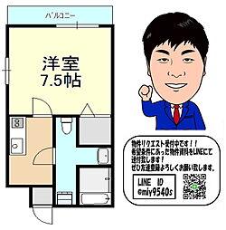 京阪本線 千林駅 徒歩4分 4階1Kの間取り