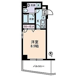 フェニックスII・アムス亀戸[5階]の間取り