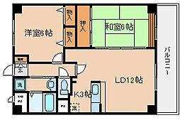 兵庫県神戸市兵庫区下沢通7丁目の賃貸マンションの間取り