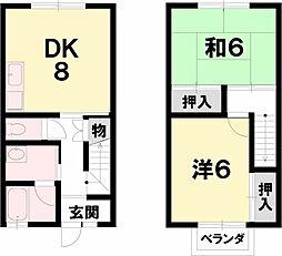 Flat Inoue[1階]の間取り