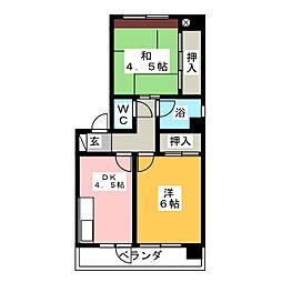 明興産業ビル[4階]の間取り
