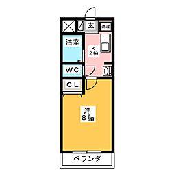 アーバンライフ錦 II[5階]の間取り