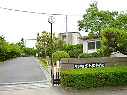 富士松中学校3900m