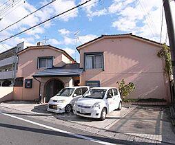 京都府京都市伏見区納所岸ノ下の賃貸アパートの外観