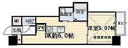 AVERE 京阪本通[9階]の間取り