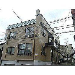 北海道札幌市豊平区平岸三条3丁目の賃貸アパートの外観