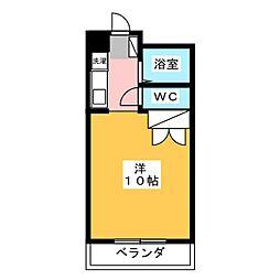 鶴松[2階]の間取り