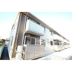 群馬県伊勢崎市堤下町の賃貸アパートの外観