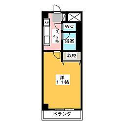 NARABU五番館[4階]の外観