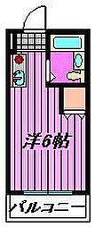 メゾン・ド・飯塚[303号室]の間取り