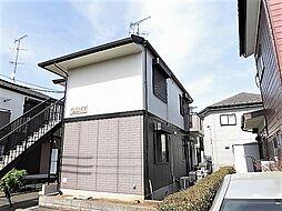 東京都昭島市美堀町2丁目の賃貸アパートの外観