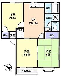 エミネンス21[2階]の間取り