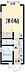 間取り,1K,面積19.74m2,賃料7.2万円,東急池上線 旗の台駅 徒歩3分,東急大井町線 旗の台駅 徒歩3分,東京都品川区旗の台3丁目