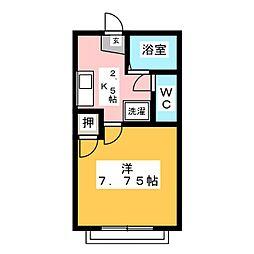 トヨタハイツII[2階]の間取り