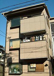 大阪府大阪市東住吉区南田辺4丁目の賃貸アパートの外観